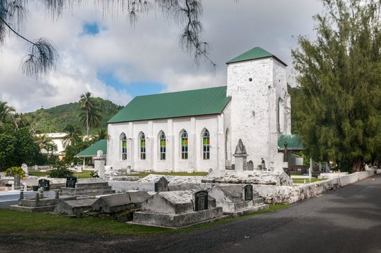 Raro Mountain Safari Tour: Cook Island Christian Church (CICC)
