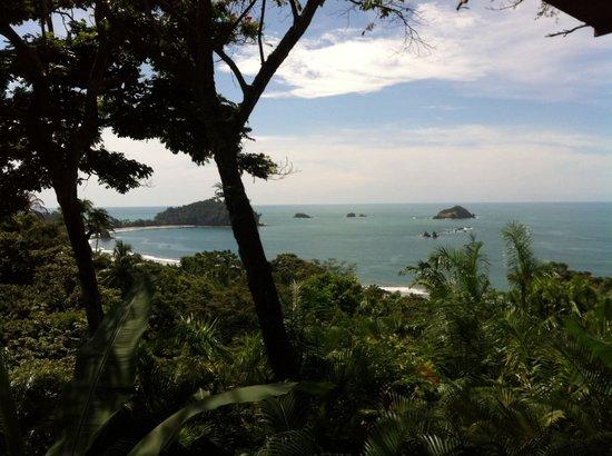 Hotel Costa Verde: Vista desde el restaurante