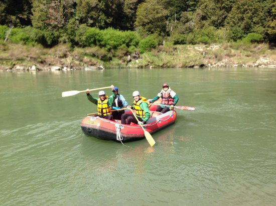 Wild rivers rafting: Off we go