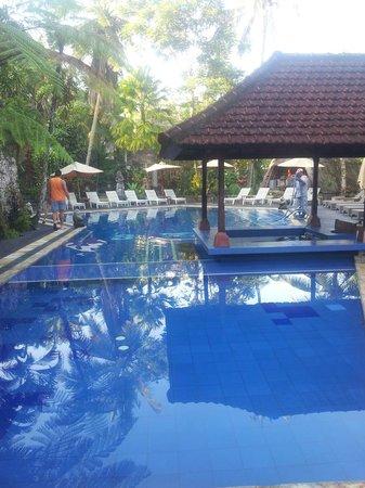 Bali Spirit Hotel and Spa: Pool with swim up bar