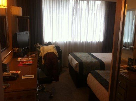 Thistle Euston : Ideal size city room