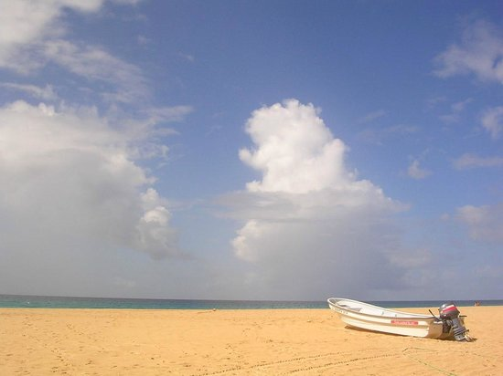 Hotel Riu Touareg: sky over