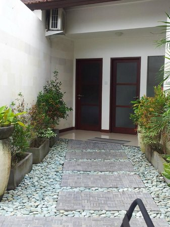 Bali Spirit Hotel and Spa : Entrance from Roof Terrace Rama Sita Room
