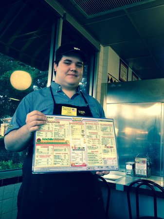 Waffle House: New menu showing calories-great idea!