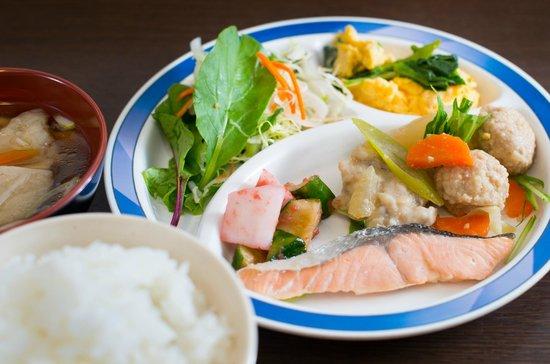 Super Hotel Hachinohe-Tennenonsen: 朝食
