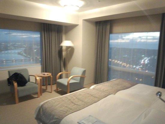 Hotel Nikko Niigata: 2方向窓です