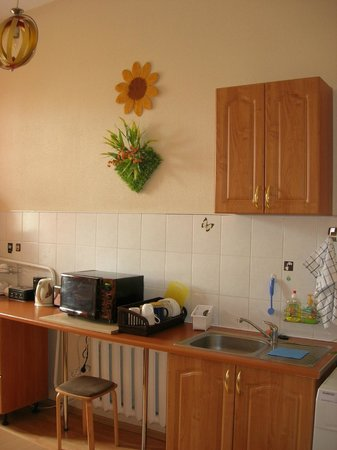 Elizabeth's Youth Hostel: Self-catering kitchen