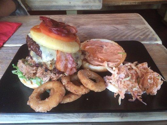 Backyard BBQ: The best burger I've had. The Back Yard Shed