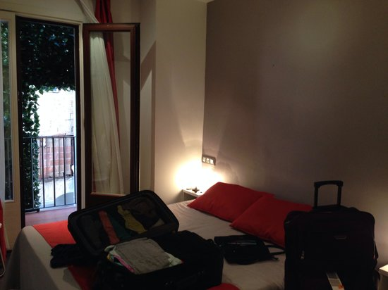 Hotel Curious: Our double room with balcony