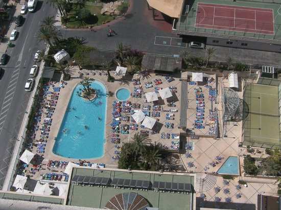 Hotel Levante Club & Spa: Pool view from balcony of 1804