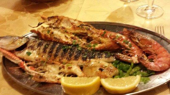 Da Robertino: grigliata di pesce