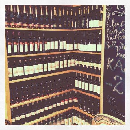 Klaasparlimang: More wine
