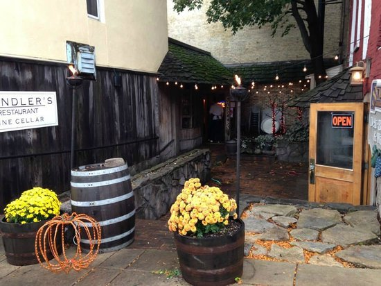 Chandler's A Restaurant: Outside Chanler's in Petoskey