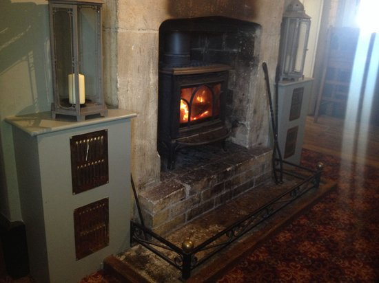 The Lansdowne Arms: Cosy fire