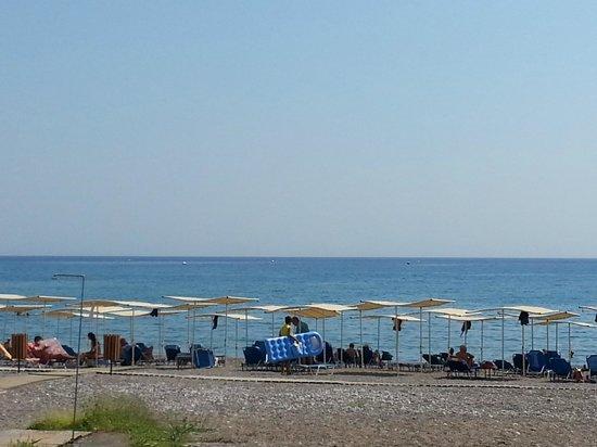 Sensimar Lindos Bay Resort & Spa: Playa