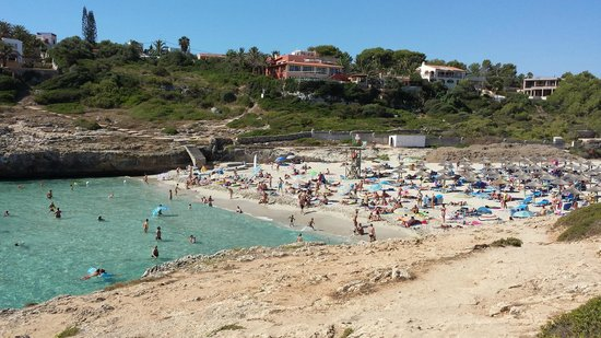 Globales America: A beautiful sandy cove just outside the hotel