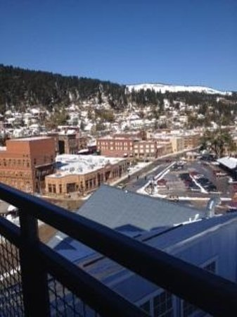 Deadwood Mountain Grand Hotel, a Holiday Inn Resort: View from balcony