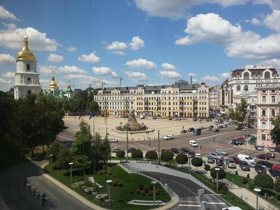 Hyatt Regency Kiev: Вид на Софийскую площадь