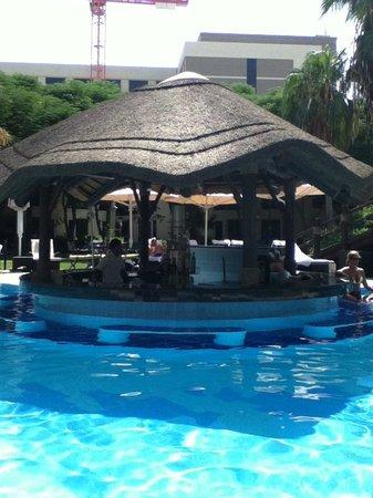 Le Meridien Dubai Hotel & Conference Centre: Swim up bar