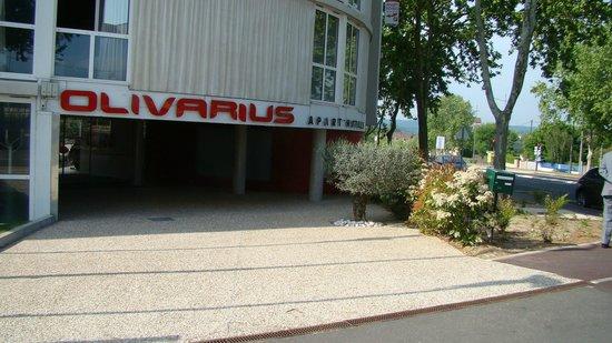 Olivarius Apart'hotel Cergy : отель
