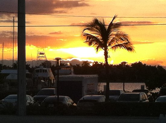Hollywood Beachside Boutique Suites : Sunset from the hotel