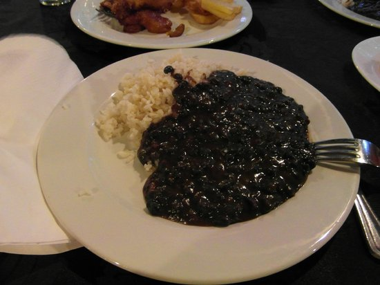 El Aljibe : Black beans and rice