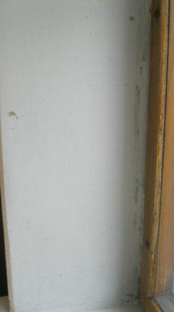 Zhovtnevy Hotel: Окно в номере