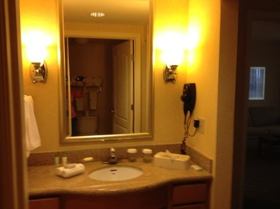 Homewood Suites Daytona Beach Speedway - Airport: bath - vanity
