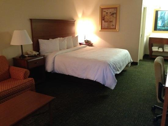 Homewood Suites Daytona Beach Speedway - Airport: king suite bedroom