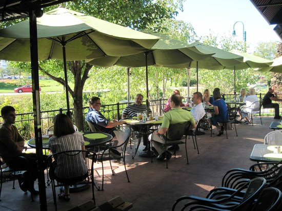 Lovely Patio Picture Of Mccarthys On The Riverwalk Elkhart