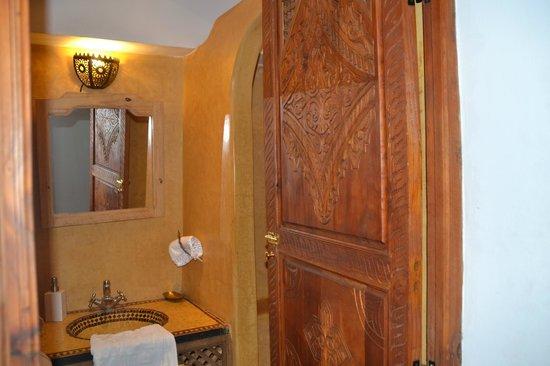 Riad Plein Sud : Baño de una de las habitaciones
