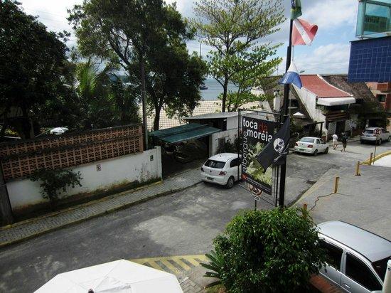 Hostel Albergue Toca da Moreia: vista da varandinha do quarto