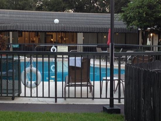 Quality Inn Ocala: pool area