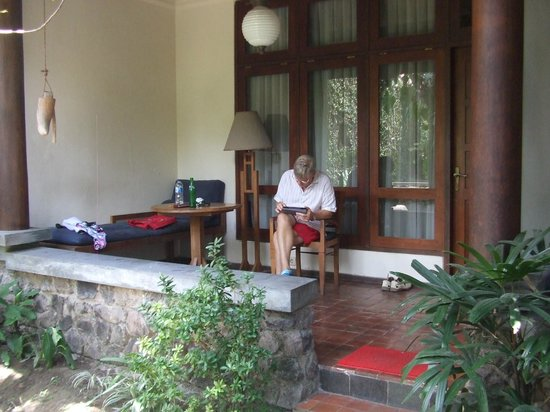 Rumah Mertua: Room 5 front terrace
