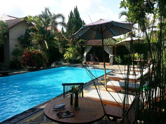 Rumah Mertua: Pool area