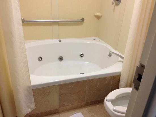 Whirlpool Jet Tub In King Suite  Beautiful Tile And. Industrial Lights. Lumasite. Standard 2 Car Garage Size. Gray Changing Table. Flip Top Desk. Pendant Lantern. Black Bedside Table. Shower Niches