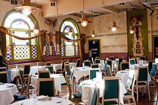 Café Spice Namasté: Cafe Spice Namaste - Main dining hall