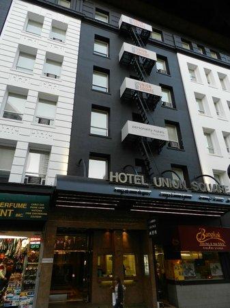 Hotel Union Square: ホテルユニオンスクエア正面