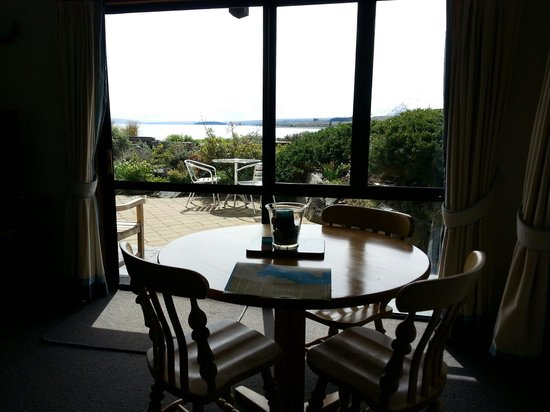 The Chalet Boutique Motel : Fantastic view from Unit 1