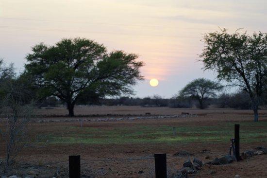 Kalahari Anib Lodge: vista dall'anib lodge