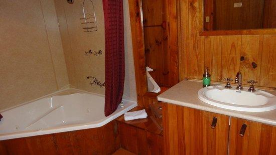 Cradle Mountain Highlanders Cottages: Bathroom