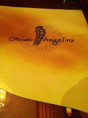 Guido & Angelina : Le menue