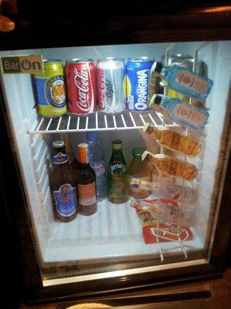 Hotel de l'Opera Hanoi - MGallery Collection: bar fridge - chargable .. I never use. haha!!