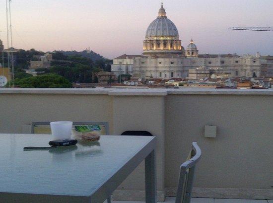 Roma Dreaming: Vista dalla terrazza