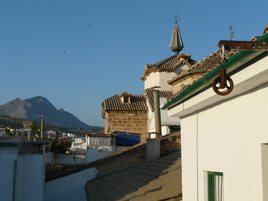 Casa Banos de la Villa: From the balcony of the suite