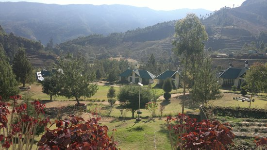Camp Noel : View from restaurant