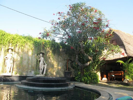 Dewani Villa : View of the dining place from the pool