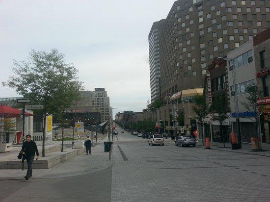 Hyatt Regency Montreal: Al di fuori