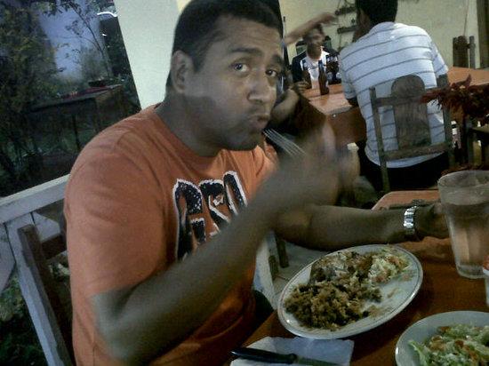 Hostal La Posada de Ferhisse : Dinner