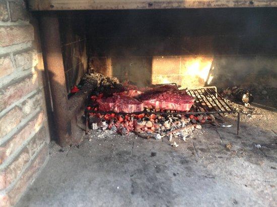 Agriturismo Le Baccane: La bisteccata alla Fiorentina!